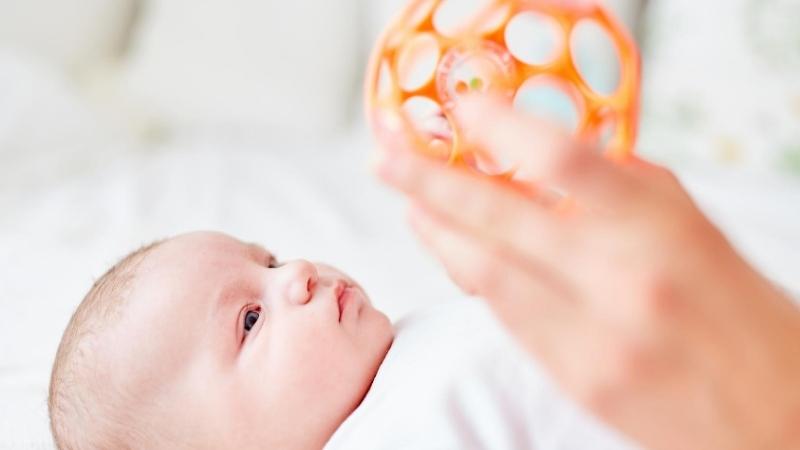 オーボールと赤ちゃん