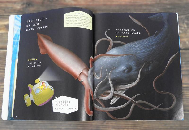 かんがえてふしぎはっけんえほん5月号の魚イラスト